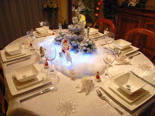 Tables de Noel - Christine