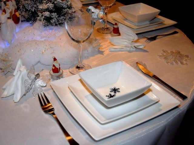 Papillon - Tables de Noel - Christine