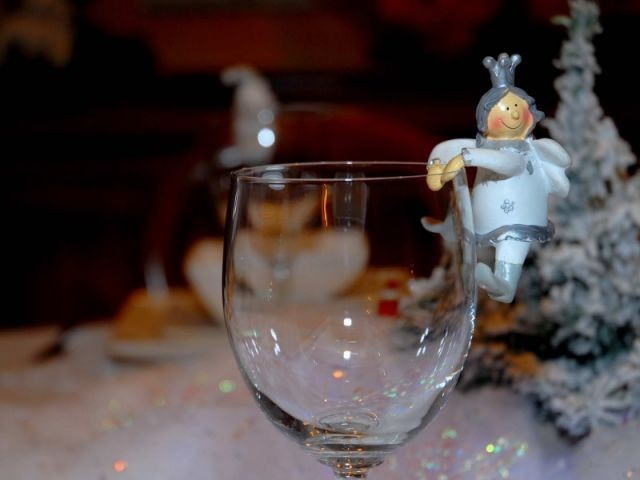 Verre - Tables de Noel - Christine