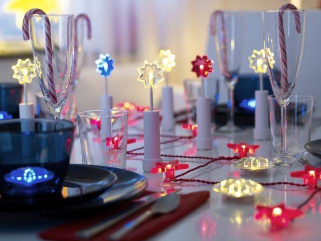 Lumineuse - Table de Noël