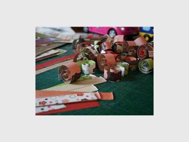 Sapin en papier - Sapin en papier et carton