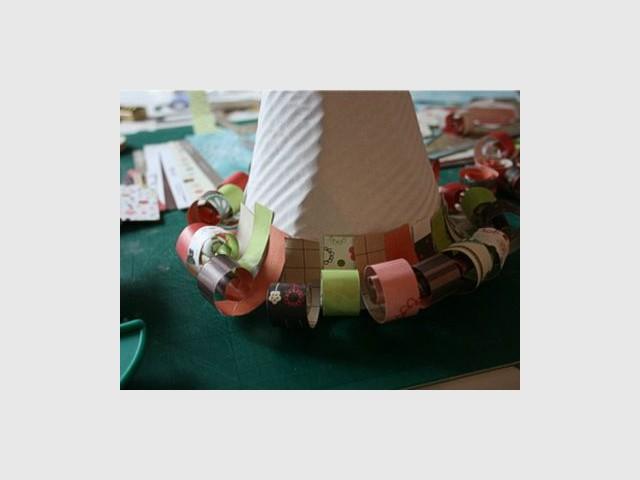 Cône en carton - Sapin en papier et carton