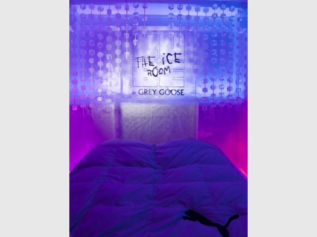 Tête de lit - Ice Kube Room