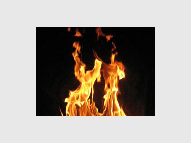 feu cheminee