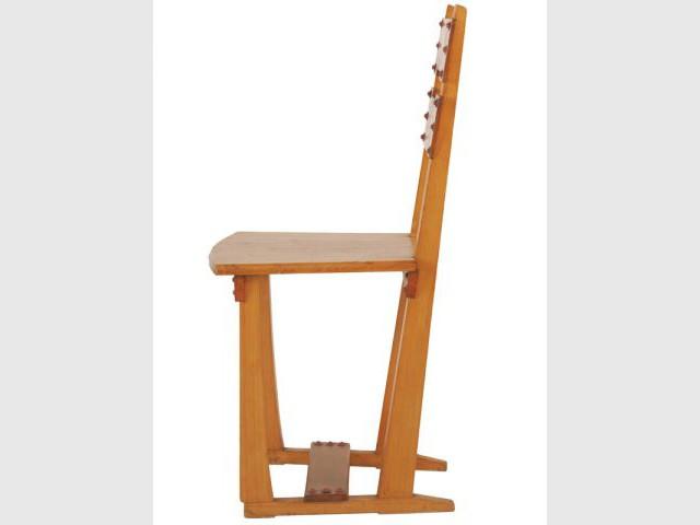 chaise silex serrurier bovy