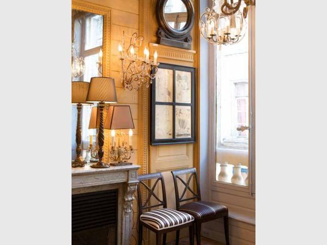 changement de d cor pour yves delorme et mis en demeure. Black Bedroom Furniture Sets. Home Design Ideas
