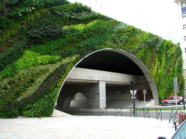 Pont - Patrick Blanc - Le Mur Végétal