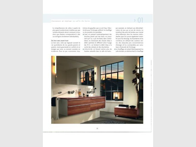 1ère partie : concevoir une salle de bains - Editions Eyrolles