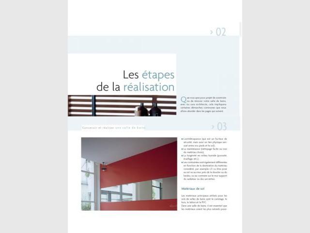 2e partie : les étapes de la réalisation - Editions Eyrolles