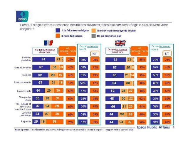 ipsos enquête repartition ménage 2