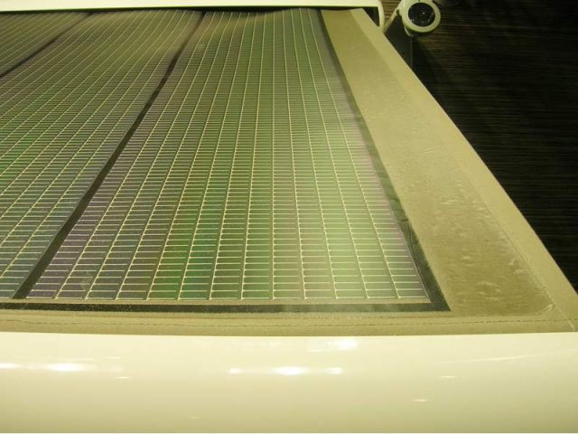 Prototype store photovoltaïque