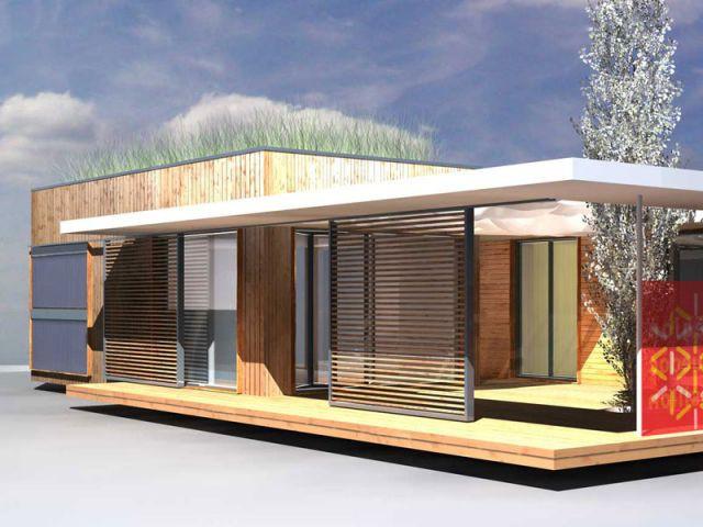 maison écologique à modules