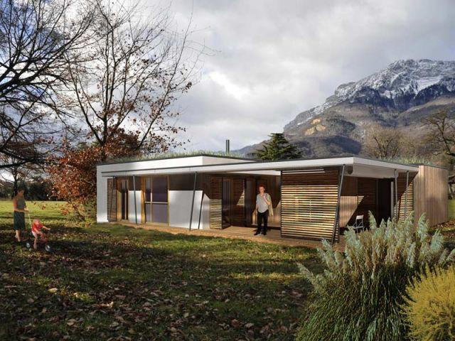 Une consommation moindre - maison écologique à modules