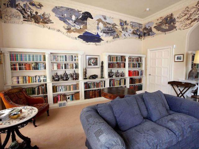 Maison Agatha Christie - La bibliothèque