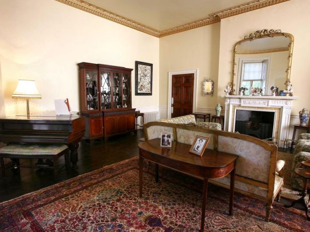 Salon - Maison Agatha Christie