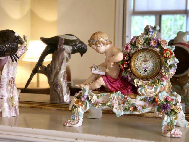 Détail salon - Maison Agatha Christie