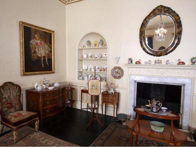 Salle du petit déjeuner - Maison Agatha Christie