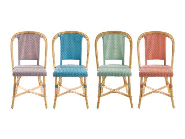 Les chaises en osier Drucker