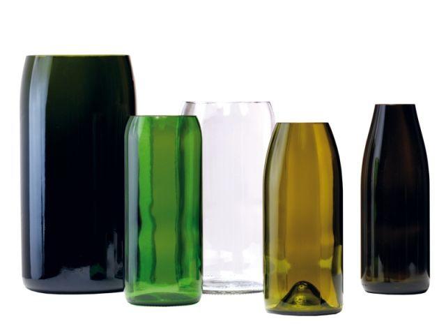 Set de vases bouteilles