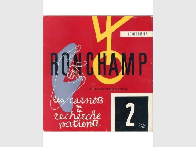 """Couverture de l'ouvrage """"Ronchamp"""" - Le Corbusier"""
