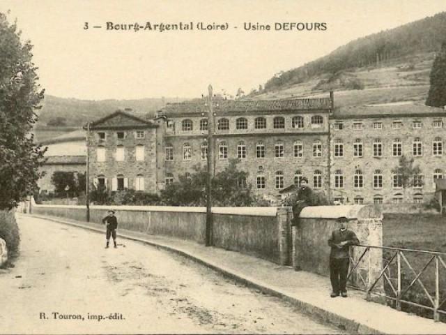 L'usine Defours au 18e siècle - montchal