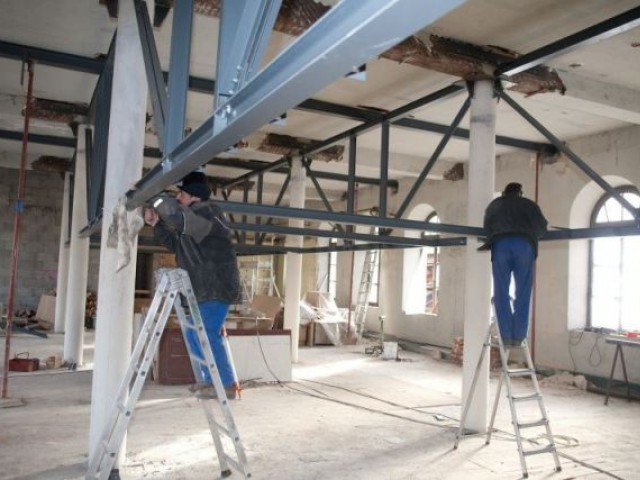 Les lofts en travaux - montchal