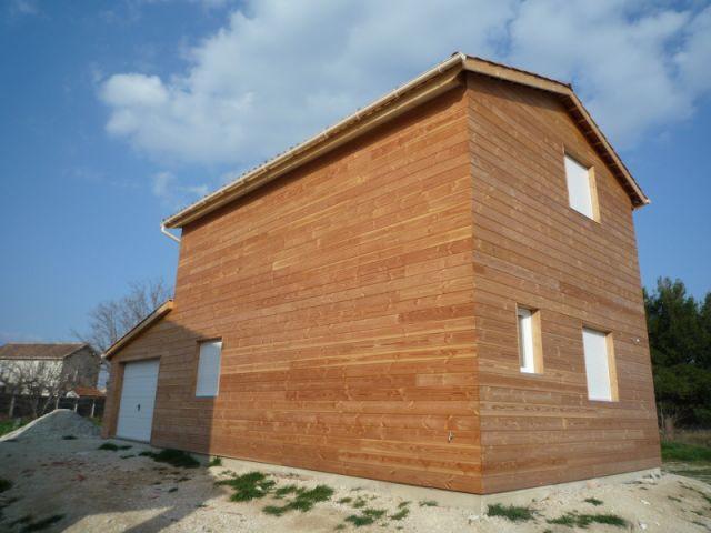 Un exemple de maison terminée