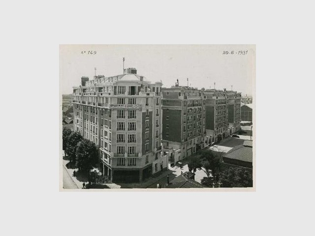 Les immeubles Michelin, en 1930 - michelin