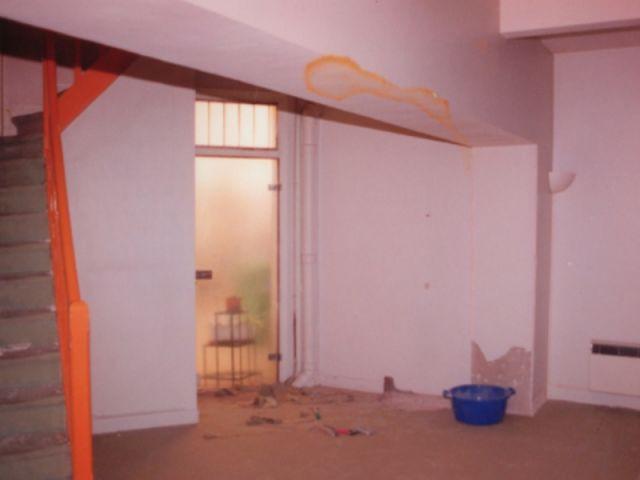 chambre en chantier