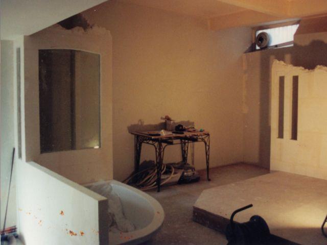 Une chambre en chantier