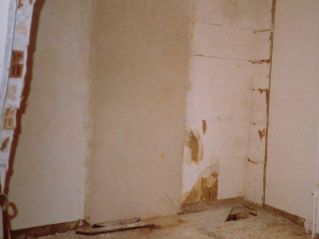 mur en chantier