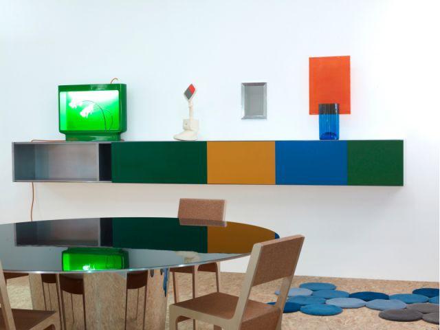 Du mobilier coloré - Exposition aux Galeries