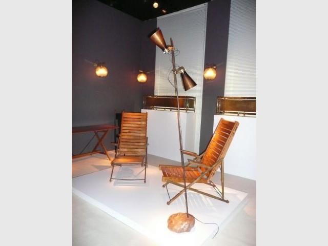 Lampadaire - Pavillon des Arts et du Design 2009