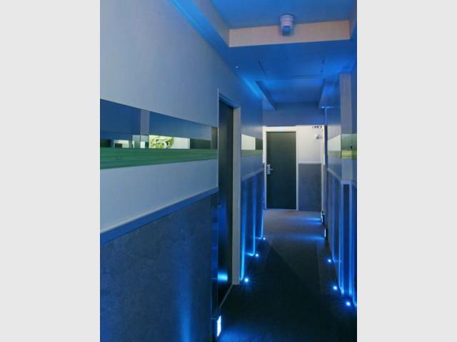 Couloirs - Cadran Hôtel