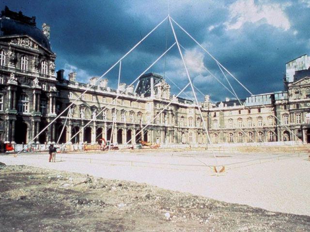 Simulation de la construction de la Pyramide
