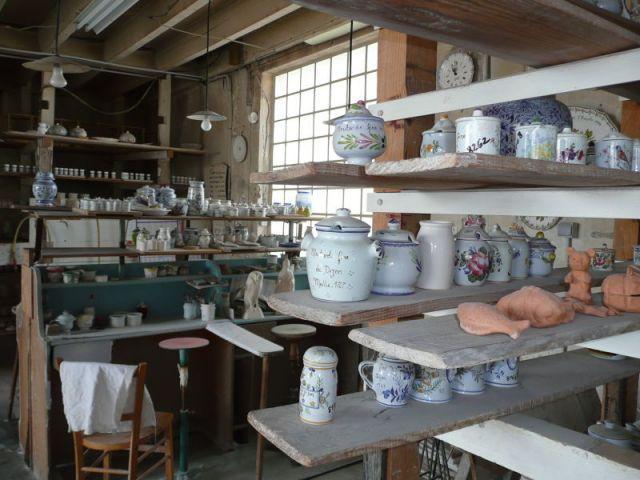 Pièces finalisées - Faïencerie Bourg-Joly - Malicorne
