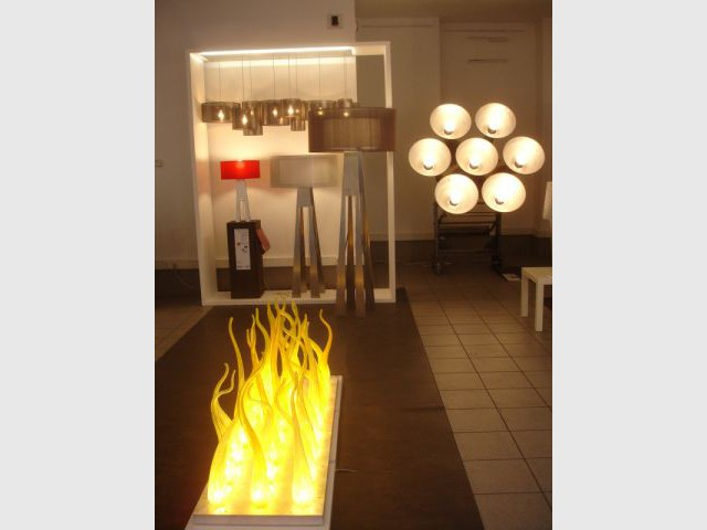 Luminaires - exposition Black Out