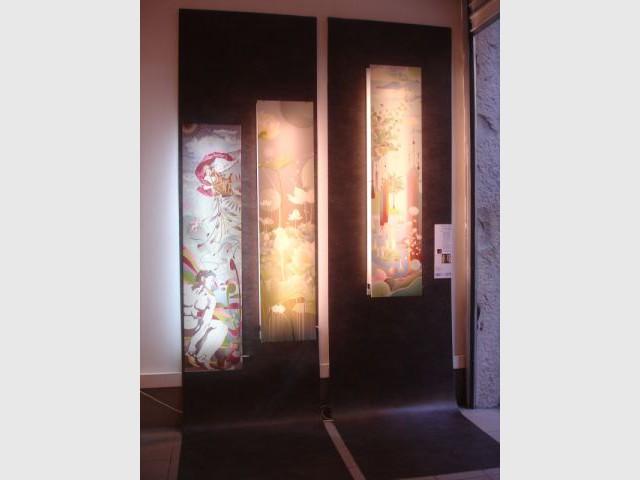 Luminaires vu par l'Atelier AtHome - exposition Black Out