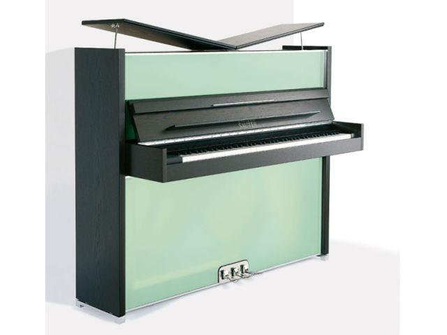 """Le piano rigolo """"Vitrea"""" - pianos design"""