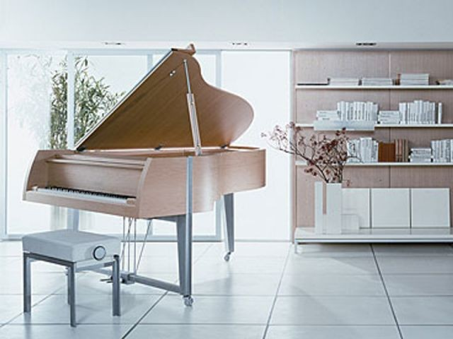 """Le piano à queue romantique """"Vivace"""" - pianos design"""