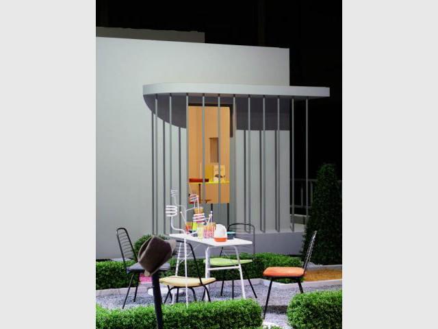 Entrée - Jacques Tati - Villa Arpel