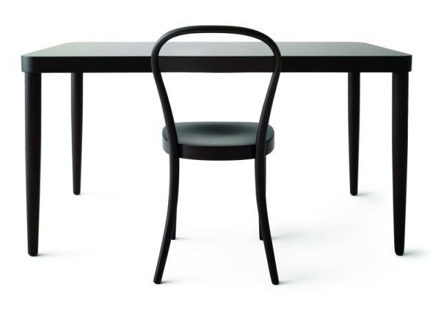 Table en bois - Chaise Thonet Muji