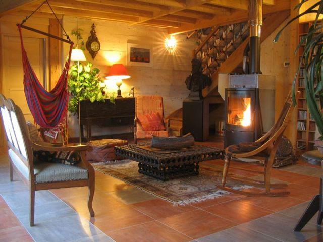 interieur maison bois
