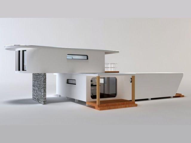 Une maison bois modulaire et design for Maison modulaire design