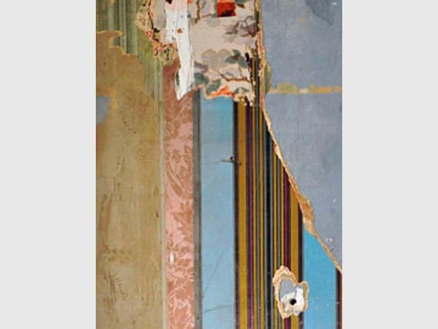 """Papier peint """"Scratch"""" de la collection """"Vestiges d'avenir"""" - papier peint collection Vestige d'avenir"""