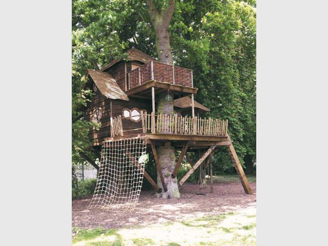 Mathews - Cabane arbre