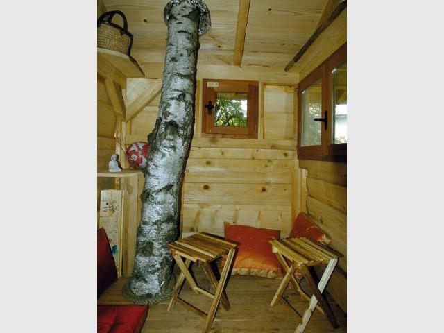 Echasse - Cabane arbre