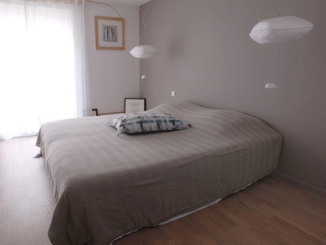 Chambre parentale - Rénovation loft Toulouse - Marina Moroni