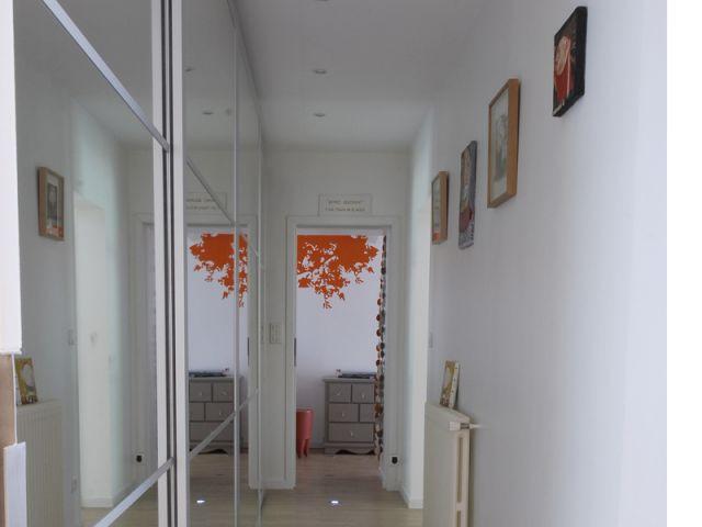 Couloir - Dressing - Rénovation loft Toulouse - Marina Moroni