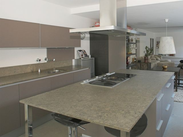 Cuisine - Rénovation loft Toulouse - Marina Moroni